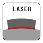 Lasergelast, 100% garantie tegen tandbreuk.