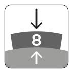 Segmenthoogte 8 mm