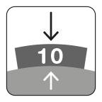 Segmenthoogte 10 mm