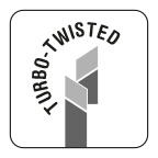 Turbo twisted